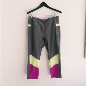 rbx grey and purple leggings